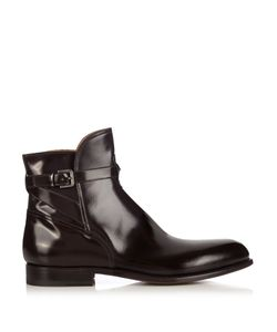 ARMANDO CABRAL | Polished-Leather Ankle Boots