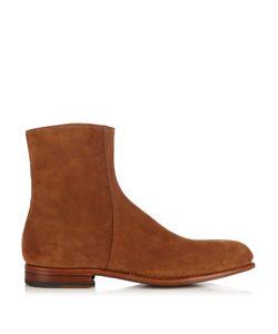 ARMANDO CABRAL | Side-Zip Suede Chelsea Boots