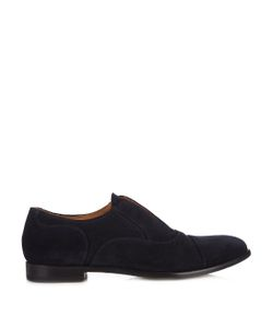ARMANDO CABRAL | Slip-On Suede Derby Shoes