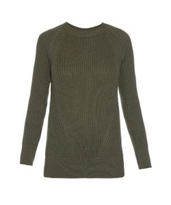 TRADEMARK | Crew-Neck Ribbed-Knit Sweater