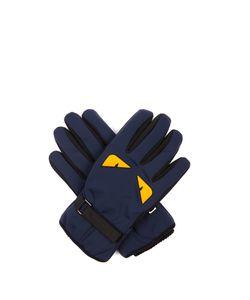 Fendi | Bag Bugs-Print Gloves