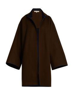 MAFALDA VON HESSEN | Bi-Colour Wool Coat