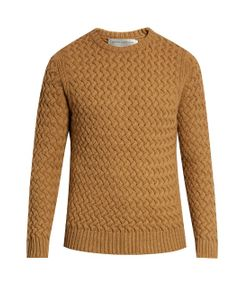 GIEVES & HAWKES | Crew-Neck Wool And Mohair-Blend Sweater