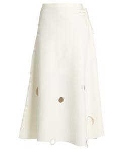 Rosie Assoulin   Crater A-Line Wool Skirt
