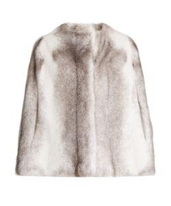 ALMA ROSA SHEARLINGS | Visone Mink-Fur Cape