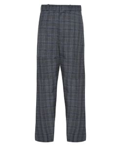 VETEMENTS | Oversized Wide-Leg Checked Trousers