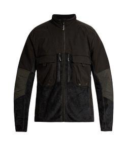 7L   Panelled Fleece Jacket