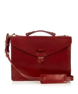 TÄRNSJÖ GARVERI   Leather Briefcase