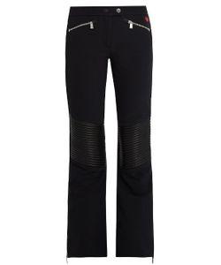 TONI SAILER | Carla Leather-Paneled Flared Ski Trousers