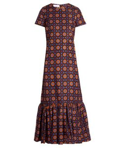 LA DOUBLEJ EDITIONS | The Maiolica-Print Rain Dress
