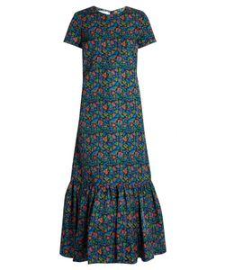 LA DOUBLEJ EDITIONS | The Pop Tulipani-Print Rain Dress