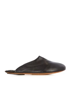 ARMANDO CABRAL | Jetset Fur-Lined Leather Slippers