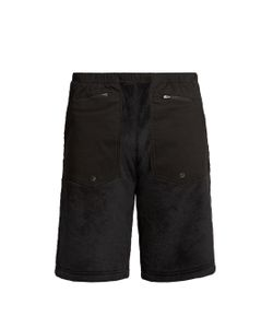 7L   Panelled Fleece Shorts