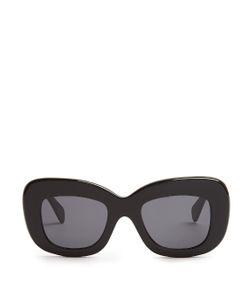 CÉLINE SUNGLASSES | Oversized Acetate Sunglasses