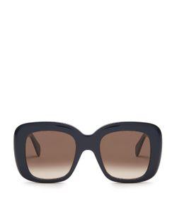 CÉLINE SUNGLASSES | Oversized D-Frame Acetate Sunglasses