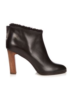 ÁLVARO | Shearling-Lined Leather Ankle Boots
