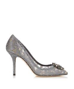 Dolce & Gabbana | Belluci Crystal-Embellished Lace Pumps