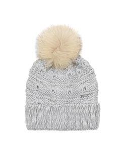 WOOLRICH JOHN RICH & BROS. | Serenity Fur-Pompom Wool Beanie Hat