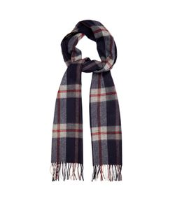 BEGG & CO. | Vigo Tartan Wool And Cashmere-Blend Scarf