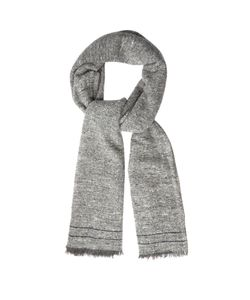 Brunello Cucinelli | Fringed Cashmere And Wool-Blend Scarf
