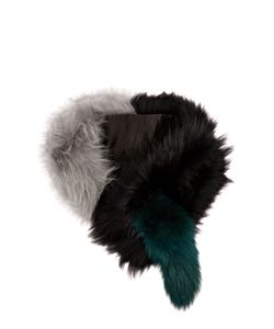 CHARLOTTE SIMONE | Popsicle Raccoon And Fox-Fur Scarf