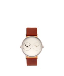 KITMEN KEUNG | Long Distance 1.0 Steel And Leather Watch