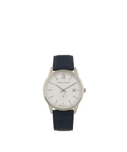 LARSSON & JENNINGS | Saxon Stainless-Steel And Leather Watch