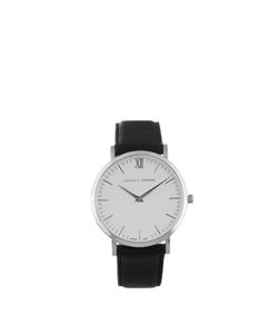LARSSON & JENNINGS | Lugano Stainless-Steel And Leather Watch
