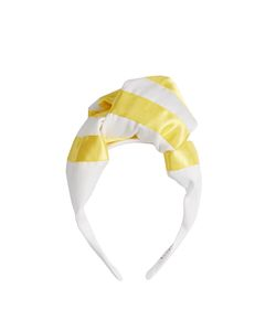 BENOÎT MISSOLIN | Alix Satin And Cotton Striped Headband