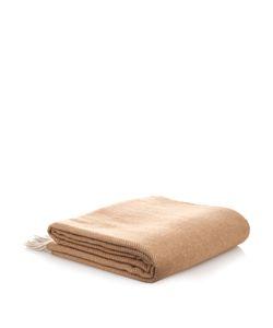 BEGG & CO. | Herringbone Wool-Blend Throw