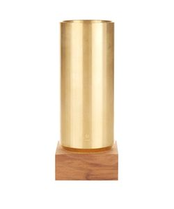 YSTUDIO | Brass And Walnut Pen Container