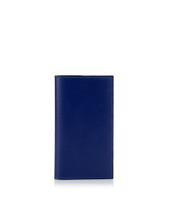 Valextra | A6 Grained-Leather Case And Notebook