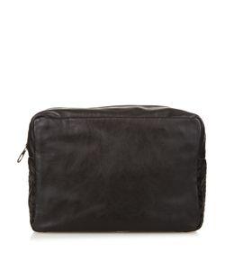 Bottega Veneta   Intrecciato Leather Trim Washbag
