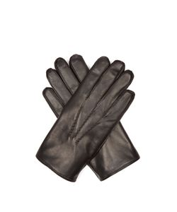 DENTS   Lumley Fur-Lined Leather Gloves