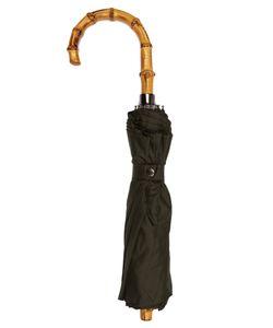 LONDON UNDERCOVER | Whangee-Handle Telescopic Umbrella