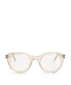 Saint Laurent | Round Acetate Glasses