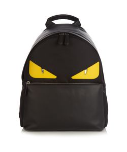 Fendi | Bag Bugs Nylon And Leather Backpack