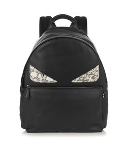 Fendi | Bag Bugs Leather And Snakeskin Backpack
