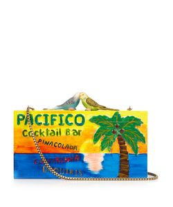 Sarah's Bag | Pacifico Carved Wooden Clutch