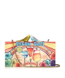 Sarah's Bag | Dream Daze Wooden Clutch