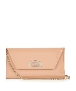 Christian Louboutin | Vero Dotat Patent-Leather Clutch