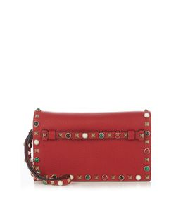 Valentino | Rockstud Rolling Leather Clutch