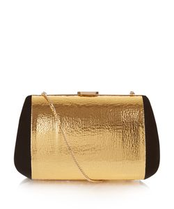 Nina Ricci | Merion Suede And Leather Clutch Bag
