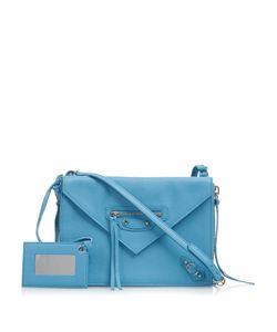 Balenciaga | Papier Classic Zip-Around Leather Cross-Body Bag