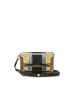Marni | Trunk Mini Python Cross-Body Bag