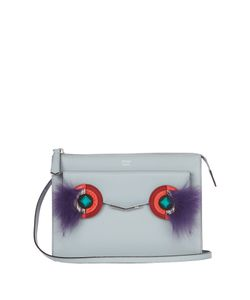 Fendi | Mini 2jours Leather And Fur Cross-Body Bag