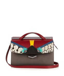 Fendi | Demi Jour Bag Bugs Small Leather Cross-Body Bag