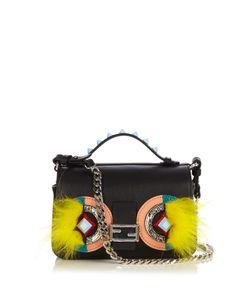 Fendi | Double Micro Baguette Bag Bugs Cross-Body Bag