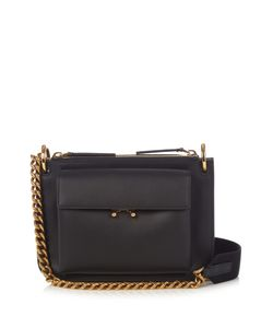 Marni | Trunk Bi-Colour Leather Cross-Body Bag