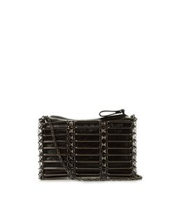 Valentino | Rockstud Caged Leather Cross-Body Bag